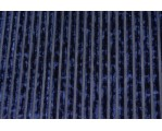 Бархат стрейч синий 06592