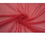 Трикотажная сетка цвет красный