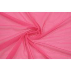 Трикотажная сетка цвет розовый