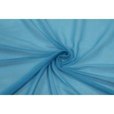 Трикотажная сетка цвет голубой