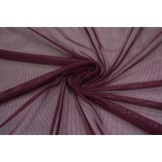 Трикотажная сетка цвет бордовый