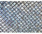 Трикотаж голограмма серебро