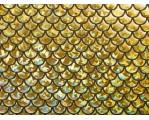 Трикотаж голограмма золото