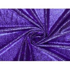 Плательная ткань с фиолетовым напылением