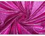 Плательная ткань с розовым напылением