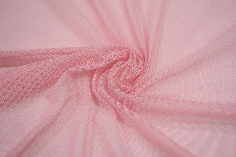 Трикотажная сетка цвет розовый C24-294
