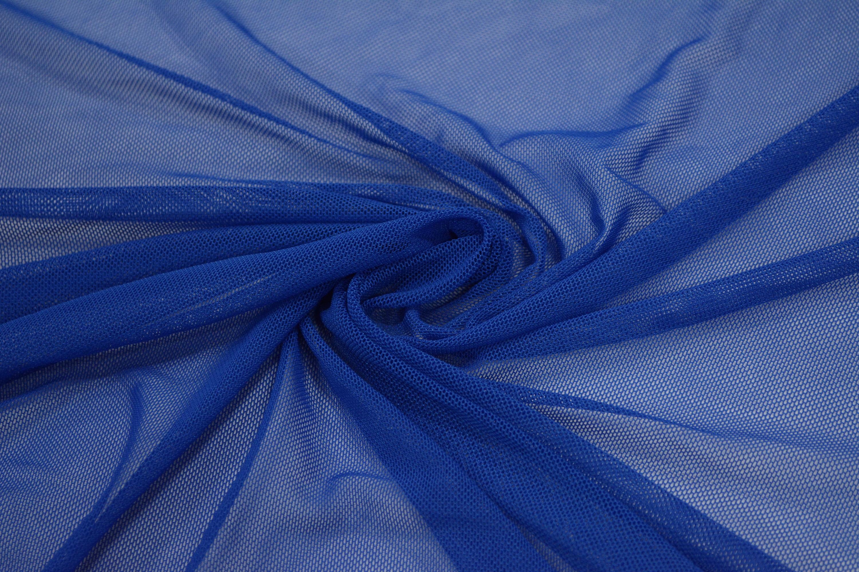 Трикотажная сетка цвет синий C24-278