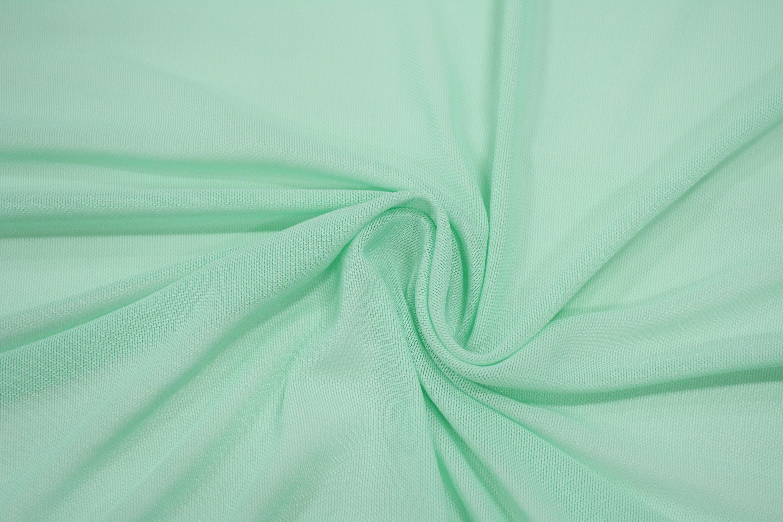 Трикотажная сетка цвет зеленый C24-297
