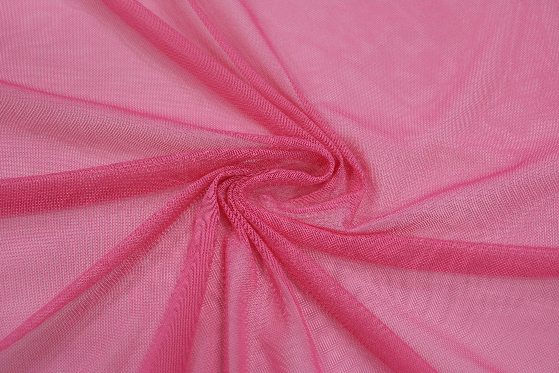 Трикотажная сетка цвет розовый C24-280