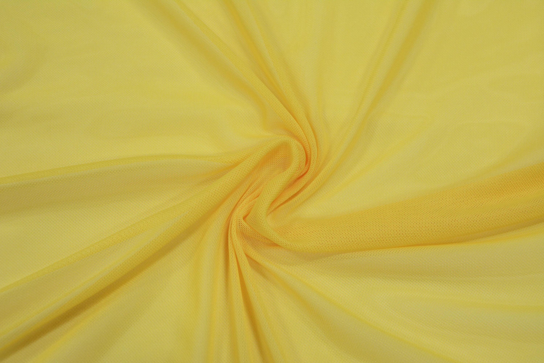 Трикотажная сетка цвет желтый C24-270