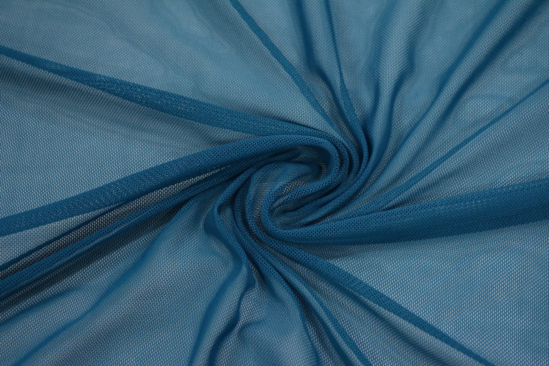 Трикотажная сетка цвет синий C24-275