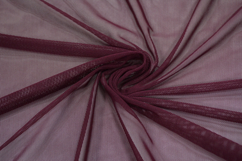 Трикотажная сетка цвет бордовый C24-271
