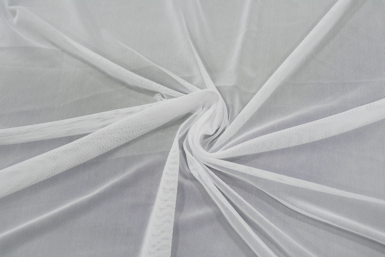 Трикотажная сетка цвет белый C24-288