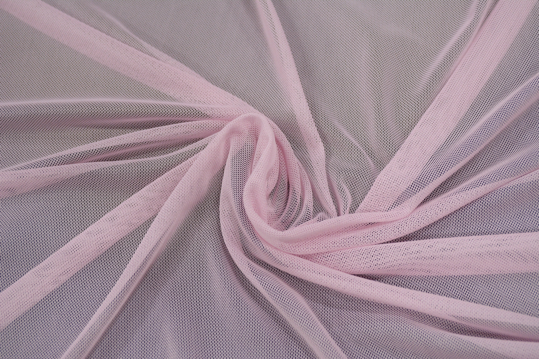 Трикотажная сетка цвет розовый C24-277