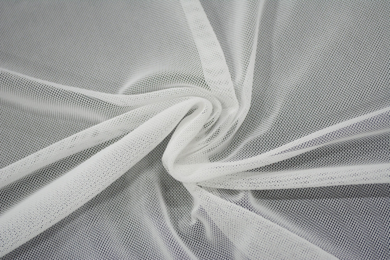 Трикотажная сетка цвет белый C24-286
