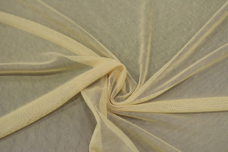 Трикотажная сетка цвет бежевый C24-287