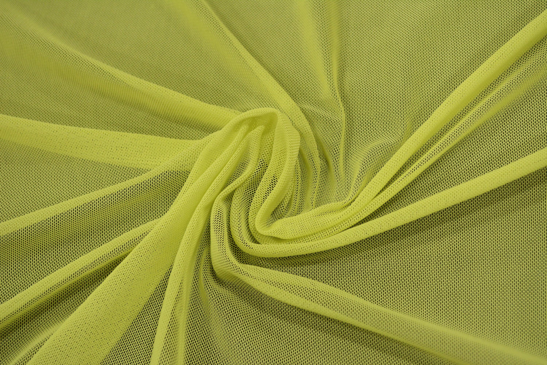 Трикотажная сетка цвет зеленый C24-279